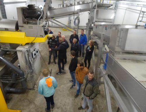 Boeren bezoeken productiefaciliteit GWM